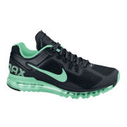 Nike Men's Air Max + 2013 Running Shoes - Black