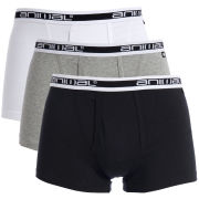 Animal Men's Acorn 3 Pack Boxer Shorts - Grey/White/Black