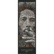 Bob Marley Mosaic - Door Poster - 53 x 158cm