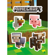 Minecraft Animals - Vinyl Sticker Pack