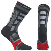 Northwave Evolution Winter Socks - Black/Red
