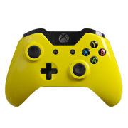 Official Xbox One Wireless Custom Controller - Gloss Yellow