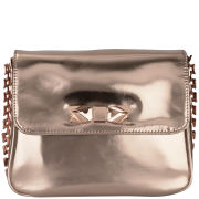 Ted Baker Women's Chaneey Mirrored Chain Cross Body Bag - Rose Gold