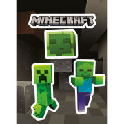 Minecraft Creepers - Vinyl Sticker Pack