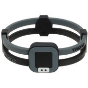 Trion:Z Duoloop Wristband - Black/Grey