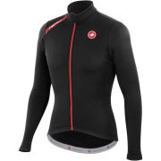 Castelli Puro Long Sleeve Full Zip Jersey - Black