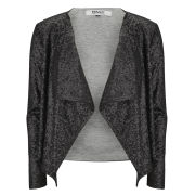 ONLY Women's Trudy Waterfall Sequin Jacket - Black