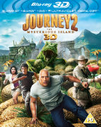 Journey 2: The Mysterious Island - 3D (Blu-Ray 3D, Blu-Ray, DVD and UltraViolet Copy)