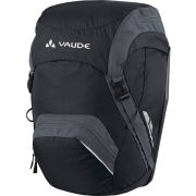 VAUDE Road Master Back Pannier - Black/Anthracite