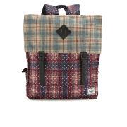 Herschel Survey Backpack - Rust Plaid Polka Dot/Grey Plaid/Black Rubber