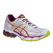Asics Women's Gel-Pulse 6 Trainers - White/Raspberry/Lime