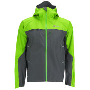 Berghaus Men's Vapour Storm Shell Jacket (B) - Grey/Green