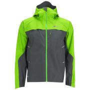 Berghaus Men's Vapour Storm Shell Jacket (B) - Grey/Green