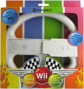Exspect Motion Steering Wheel - White (Wii)