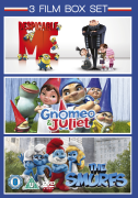 Gnomeo and Juliet / The Smurfs / Despicable Me
