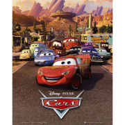 Cars One Sheet - Mini Poster - 40 x 50cm