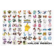 Pokemon Kalos Region - Maxi Poster - 61 x 91.5cm
