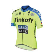 Tinkoff-Saxo Race Short Sleeve Jersey - Yellow