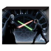 Star Wars Vader Vs Luke - 40 x 30cm Canvas