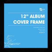 "Black Frame Album - 12"""" x 12"""