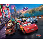 Cars Race - Mini Poster - 40 x 50cm