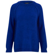 VILA Women's Virism Jumper - Blue