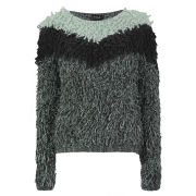 VILA Women's Truska Knitted Jumper - Grey