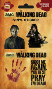 The Walking Dead Vinyl - Sticker Pack
