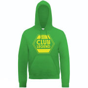 Football Manager Club Legend Men's Hooded Sweatshirt - Kelly
