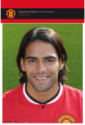 Manchester United Falcao - 10x8 Bagged Photographic