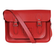 The Cambridge Satchel Company 15 Inch Classic Leather Satchel - Red