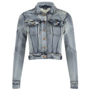 Brave Soul Women's Mariah Denim Jacket - Blue
