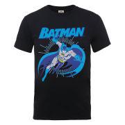 DC Comics Men's T-Shirt - Batman Leap - Black