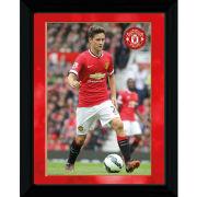 Manchester United Herrera 14/15 - Framed Photograhic - 16x12