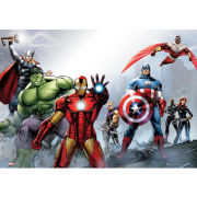 Marvel Group - Metallic Poster - 29 x 42cm