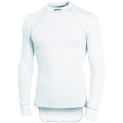 Craft Active Crew Neck Long Sleeve Jersey - White/Contrast
