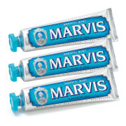 Marvis Aquatic Mint Toothpaste Triple Pack (3 x 75ml)