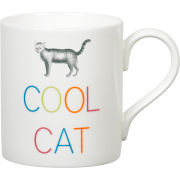 Gary Birks Slogan Mug - Cool Cat