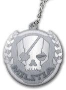 Titanfall Militia Logo Keychain