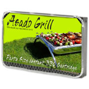 Asado Party Instant Barbeque Cartridge - Silver