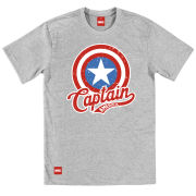 Captain America Men's T-Shirt - Vintage Shield