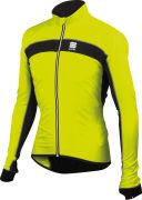 Sportful Men's Shell Jacket - Yellow Fluo/Black