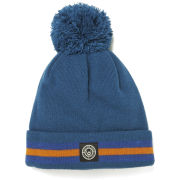 Duck and Cover Men's Striped Bobble Hat - Uniform Fjord