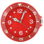 Big Time Wall Clock - Red