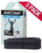 Michelin Aircomp Road Long Valve Inner Tube - Pack of 5
