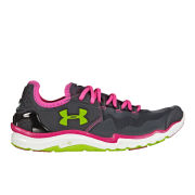 Under Armour Women's Charge RC 2 Running Shoes - Lead/Pink/Adelic/Hyper Green