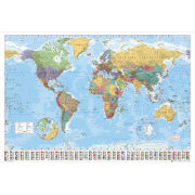 World Map 2012 - Giant Poster - 100 x 140cm