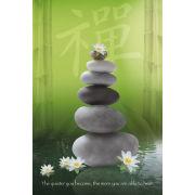 Zen Pebbles - Maxi Poster - 61 x 91.5cm