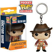 Doctor Who 4th Doctor Pocket Pop! Vinyl Figure Key Chain
