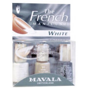 Mavala White French Manicure Kit